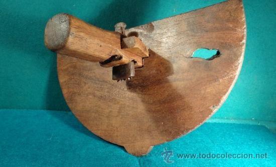 Antiguo cepillo de carpintero tonelero tipo jabloir - Cepillo de carpintero ...