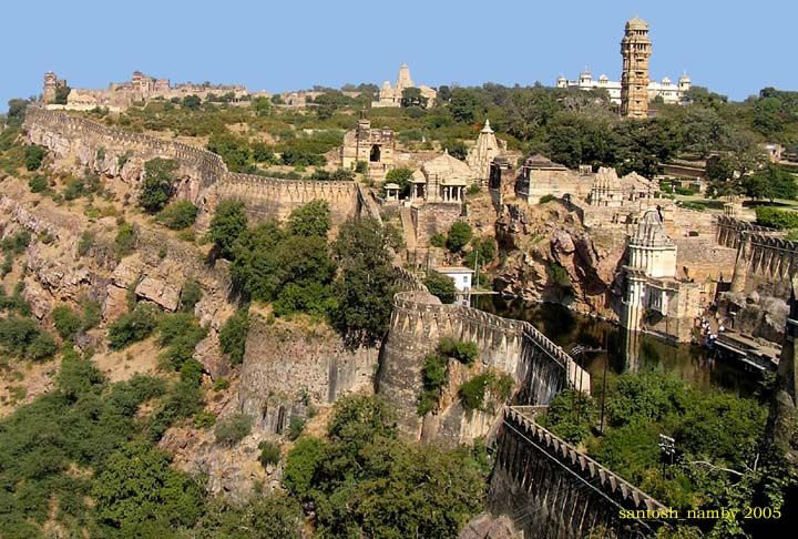 Chittorgarh Fort - Rajasthan - Wikipedia, the free encyclopedia