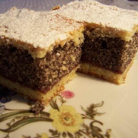 Emeletes mákos sütemény Recept képpel - Mindmegette.hu - Receptek