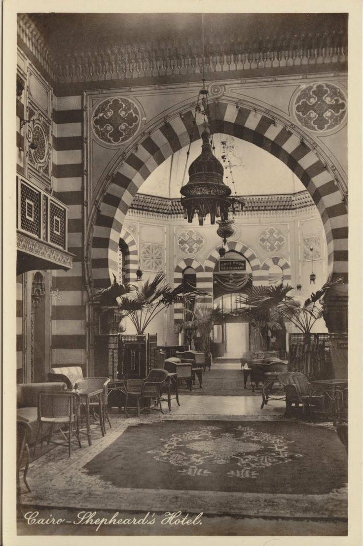 Shepheard's Hotel interior