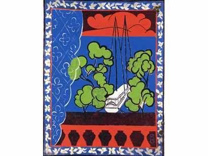 Les 73 meilleures images propos de ateliers graphiques for Matisse fenetre a tahiti