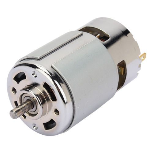 DC 6-30V MOTOR 775 GEAR MOTOR LARGE TORQUE 8300RPM HIGH-POWER MOTOR WITH VENT HOLES