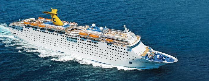 Costa Celebration. Ιδιοκτησία : Carnival Corporation & plc. Διαχείριση: Costa Cruises. 1997 ~ 2008 Celebration. 2008 ~ 2014/11ο  Costa Celebration. Παρθενικό ταξίδι στις 14/03/1987. 47.262GT ~ 223,37 μ.μ. ~ 28,20 μ.πλάτος ~ 10 κατ/τα ~ 21,7knots ~ 1.896 επ. ~ 670 α.πλ.