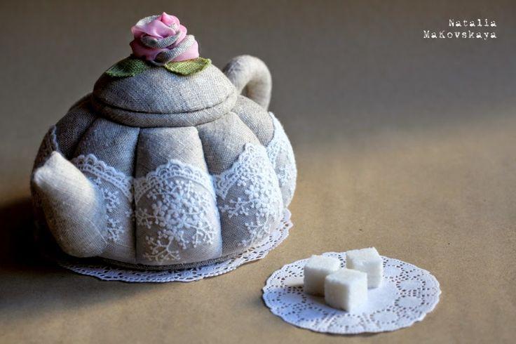 Чай с пирожным...
