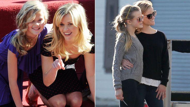 Clones de sus célebres mamás - <strong>Ava Elizabeth, hija de Ryan Phillippe (39) y Reese Witherspoon (38):</strong> Desde que era muy pequeña, llamó la atención por el gran parecido con su madre, pero a medida que crece, la hija mayor de los actores ya separados se mimetiza más con 'la rubia más legal'. A sus 14 años, la adolescente es un calco de la intérprete, compartiendo con ella su cabello oxigenado y liso, el color azul de sus ojos y su característica sonrisa. Sus padres eligieron…