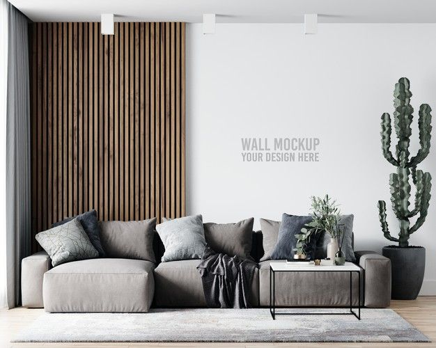 Download Interior Living Room Wall Mockup For Free In 2021 Interior Living Room Wallpaper Modern Living Room Wall Living Room Interior