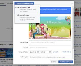 Cara Membuat Undangan Pernikahan Lewat Facebook 5