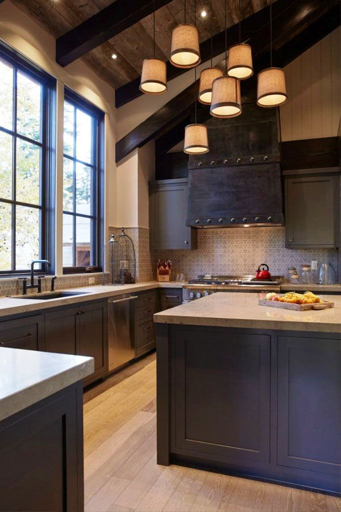 Rustic Contemporary Kitchen Ideas