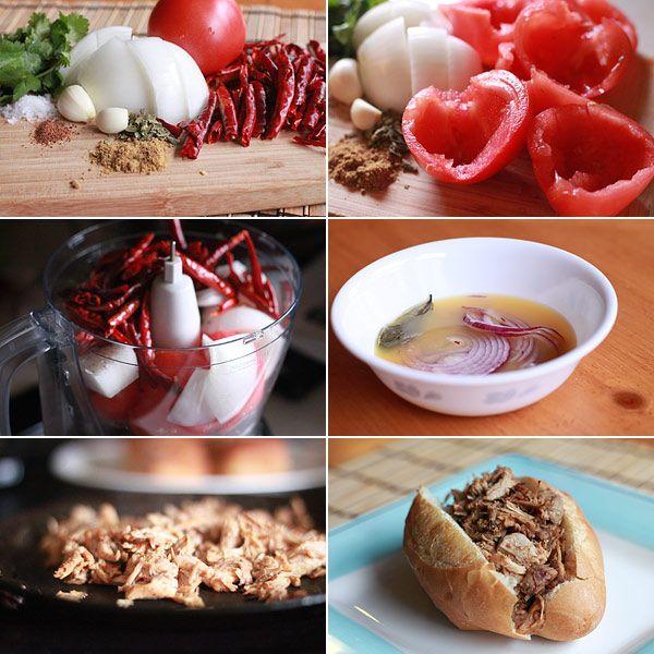 Ingredients for making Torta Ahogada