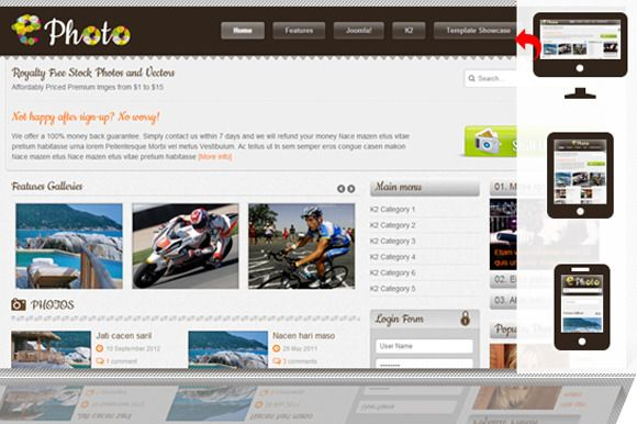 Check out SJ Ephoto - Responsive template by MagenTech on Creative Market