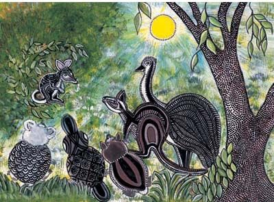 Signed limited edition print 'My Name is Bilby' by Grace Fielding from 'A Home for Bilby'. Available at Books Illustrated. http://www.booksillustrated.com.au/bi_prints_indiv.php?id=37&image_id=130