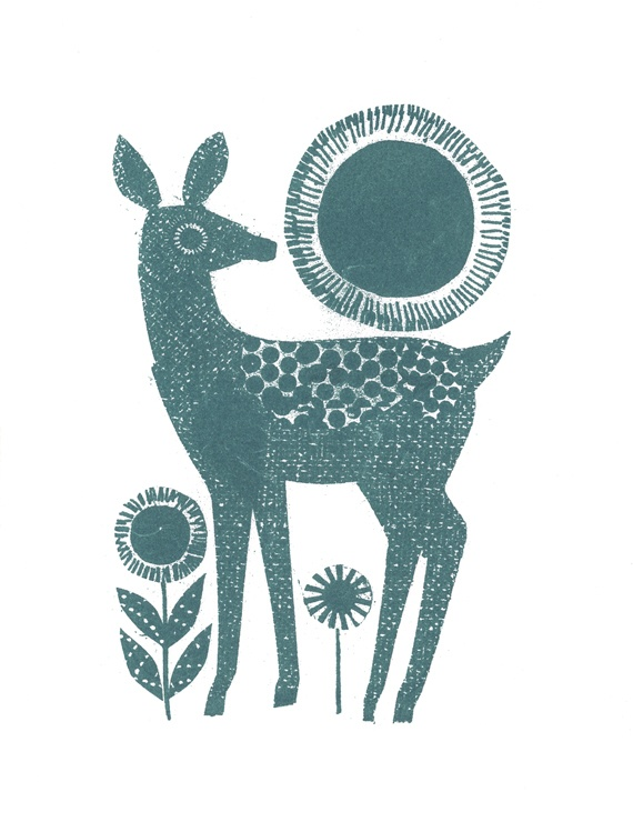 a dear deer by jane ormes. so simple.