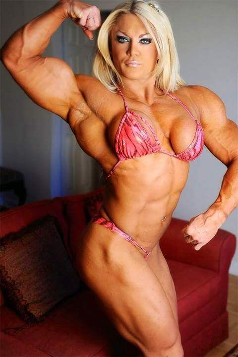 1000 images about ripped on pinterest female muscle - Lisa cross fbb ...