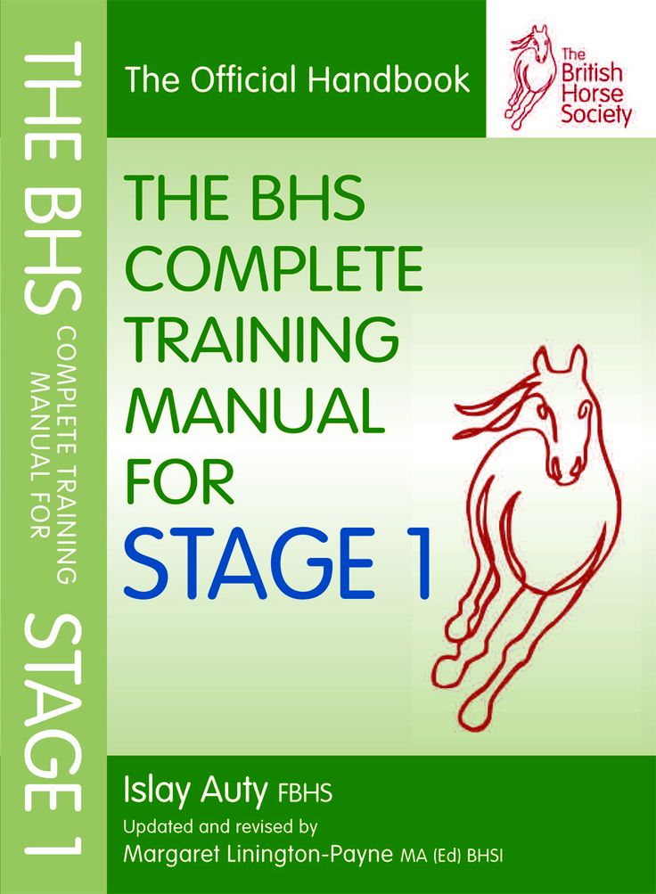 The BHS Complete Training Manual for Stage 1   Quiller Publishing. Revised and expanded to include comprehensive information on the techniques, knowledge and understanding required for the BHS Stage 1 exam, fully describing the level of practical and theoretical knowledge required for each element of the exam. #horse #BHS #training #revision #exam