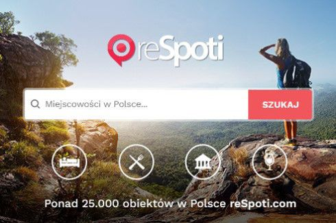 reSpoti virtual tourist guide – Polish project, Polish travels. Over 25000 unique spots from the Baltic coast to the Tatra Mountains.