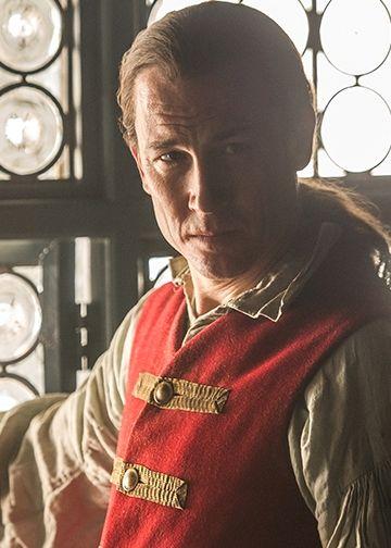 "Black Jack Randall (Tobias Menzies) in Episode 106 ""The Garrison Commander"" | Outlander on Starz via http://www.starz.com/originals/outlander/s1/e106"