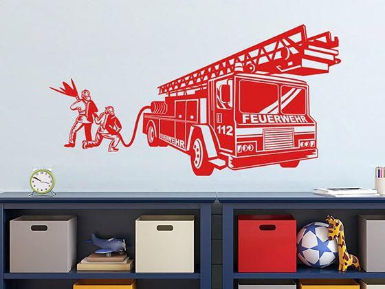 peste 25 dintre cele mai bune idei despre wandtattoo feuerwehr pe ... - Kinderzimmer Deko Feuerwehr