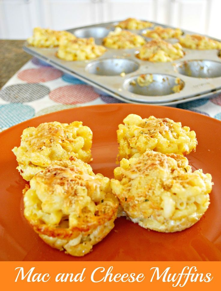 Mac and Cheese Muffins - If your kids love mac and cheese, try this fun variation.