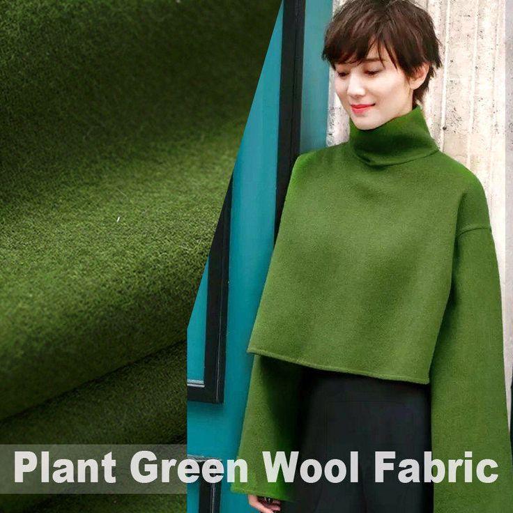 150CM breed 540G/M gewicht Plant groene dubbele FacedWool weefsel voor herfst en Winter jurk overjas E307 door DoraSilkFabric op Etsy https://www.etsy.com/nl/listing/517145653/150cm-breed-540gm-gewicht-plant-groene