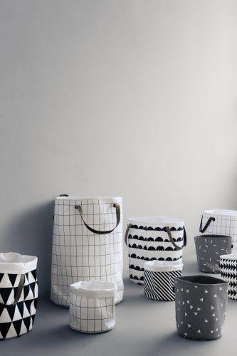Ferm Living Shop — Stripe Basket (Small)