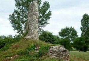 Dombói várrom (Gólyavár), Dombóvár
