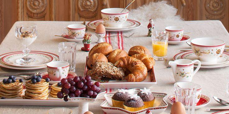 Рождественский завтрак с Villeroy & Boch