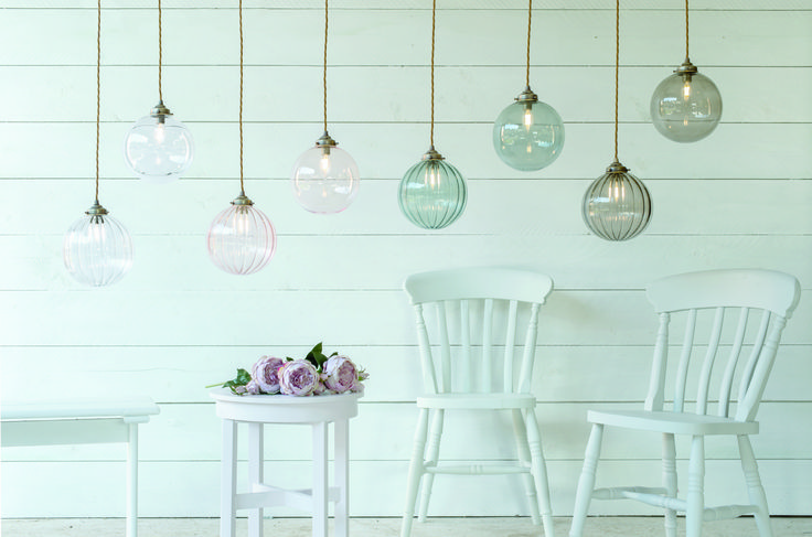 All of our amazing new #coloured #glass #pendants in one beautiful shot.