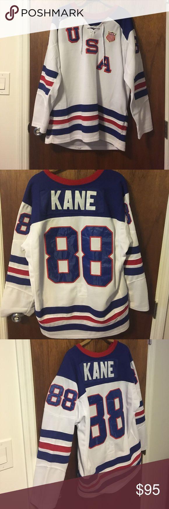 Patrick Kane team USA OLYMPIC HOCKEY JERSEY Patrick Kane team USA hockey jersey Nike Other