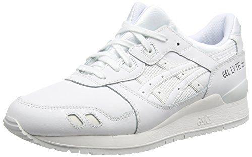 Asics  H534L-0101 Gel-Lyte III, Unisex-Erwachsene Laufschuhe Training, Weiß (white/white 0101), 35 EU (3 UK) - http://on-line-kaufen.de/asics/35-eu-3-uk-asics-gel-lyte-iii-unisex-erwachsene