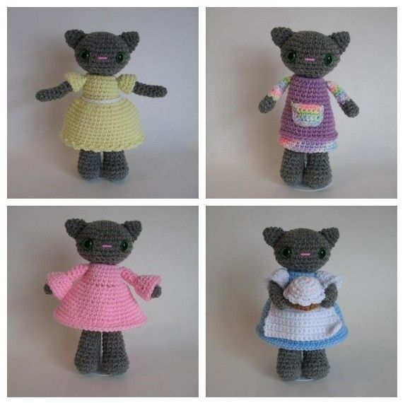 **********This listing is for the pattern only! If you want a custom order made, the cost is $20 for the doll and $10 per outfit. Convo me for