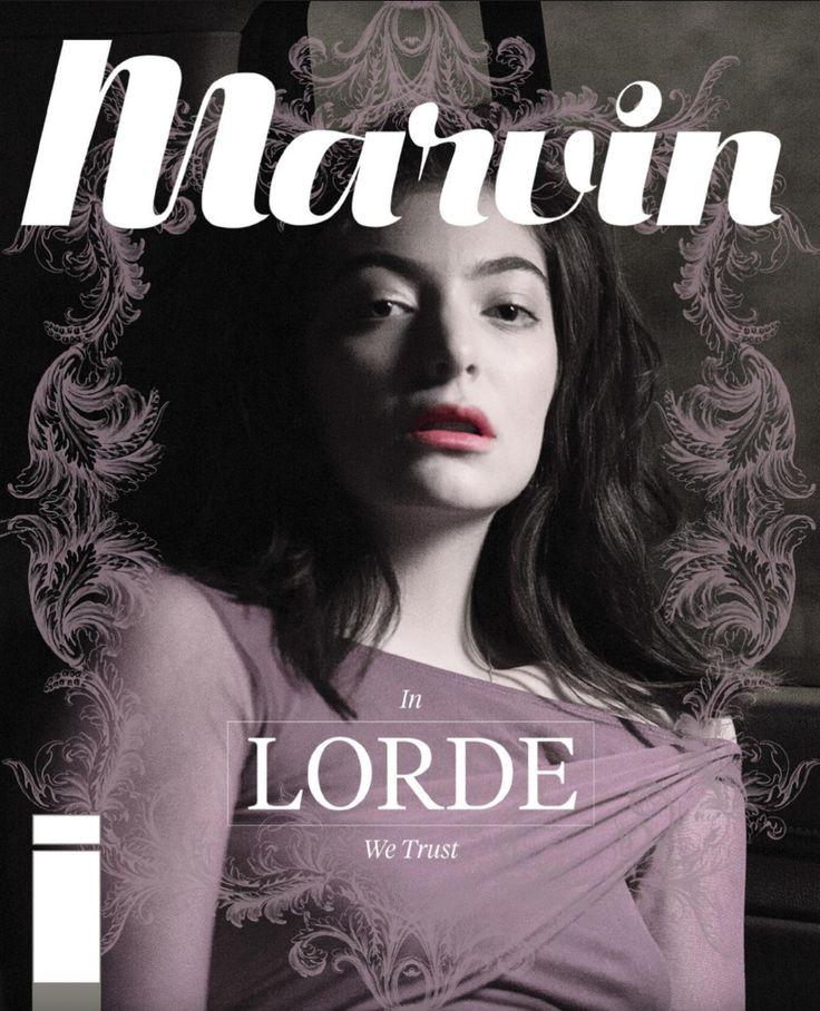 Revista Marvin 152: Fe En Portada: Lorde  #Lorde #CoverMagazine #Magazine #EditorialDesign #Editorial #Faith #Fe #ArtDirection #Marvin #RevistaMarvin