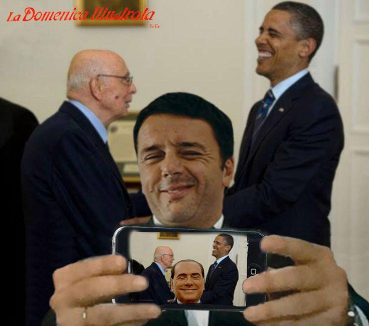 Matteo Renzi, selfie