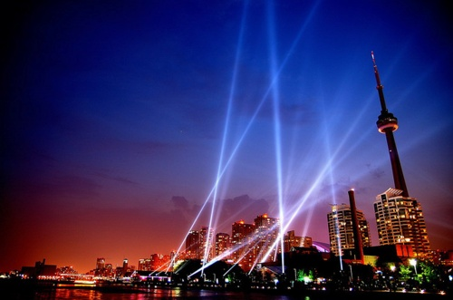 Night sky. #Toronto