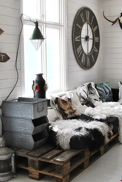 chic rustic industrial traditional no rules room!!  permission to be yourself when decorating!