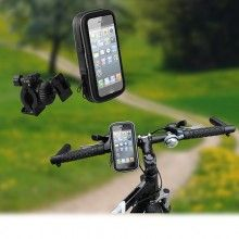 Soporte Bicicleta universal XL resistente al agua para Smartphones - Muvit  $ 244,39