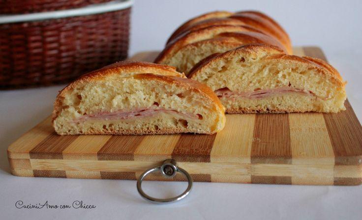 Pan brioche intrecciato