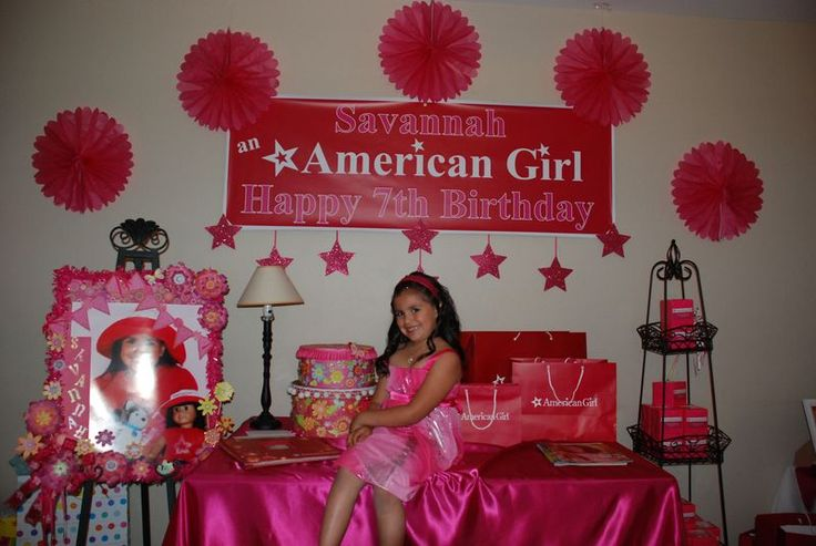 american girl party.