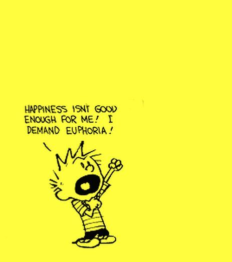 This is why I love Calvin...