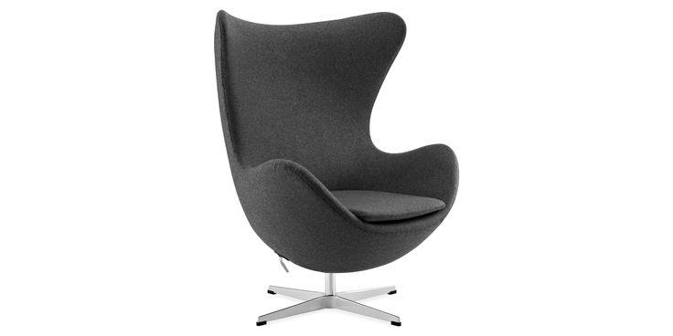 Die begehrtesten Designermöbel als Nachbau Arne Jacobsen The Egg Chair bestellen | interiorfox.com