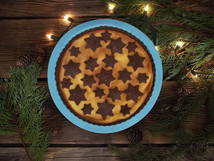 Christmas cheese cake