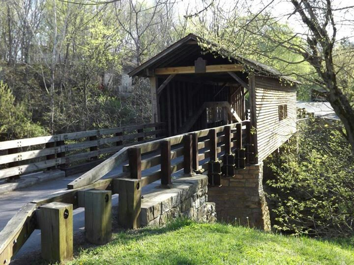 Harrisburg Covered Bridge - Sevierville Tennessee
