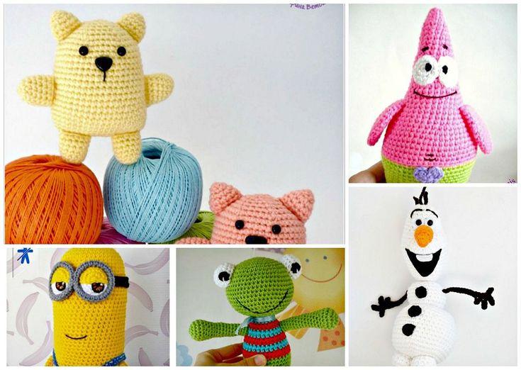 94 best Patrones Amigurumi images on Pinterest | Crochet dolls ...