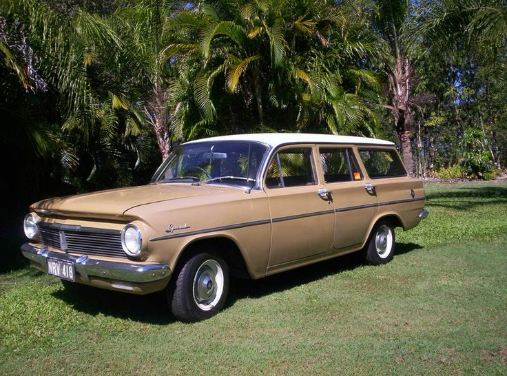 This is it,,,,,1964 eh holden station wagon.... to tow our 1964 caravan... it is even the right colour
