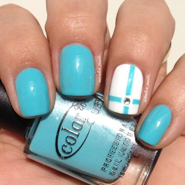 Instagram media by nicoles_nails_ - Simple #NOTD Color Club 'evolution'