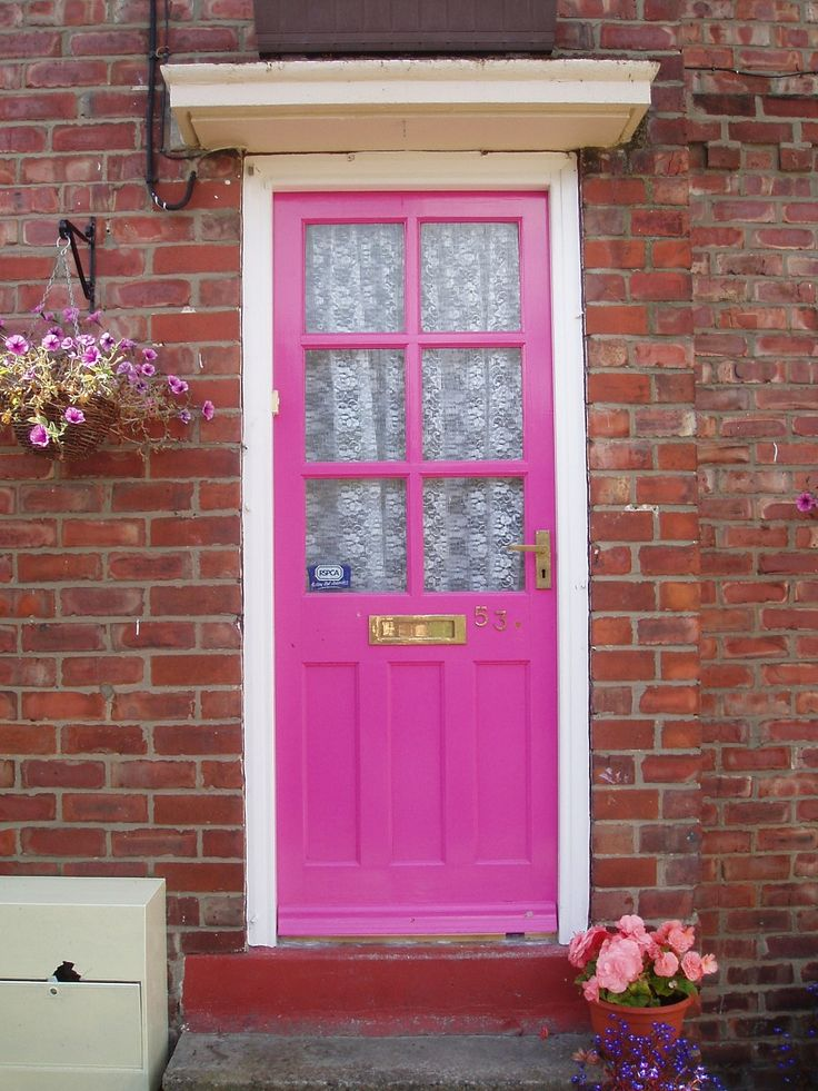 pink door & 148 best Pink doors NOT pink houses I like... images on Pinterest ... pezcame.com