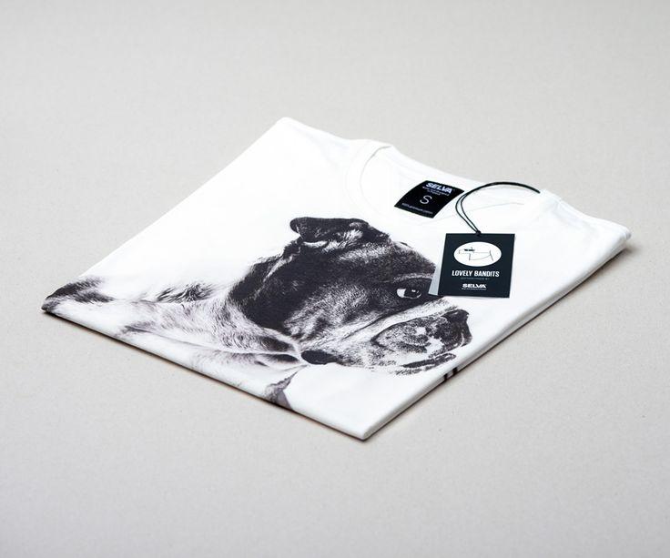 English Bulldog men's t-shirt made by SELVA