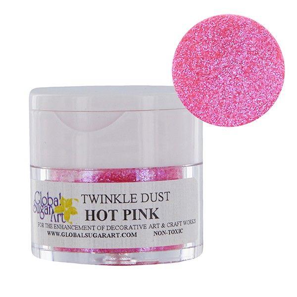 Hot Pink Twinkle/Disco Dust by GSA
