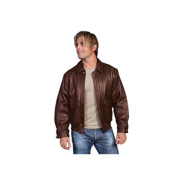 Men's Scully Rugged Lamb Jacket 907 Tall ($326) ❤ liked on Polyvore  featuring men's fashion, men's clothing, men's outerwear, men's jackets,  brown, ...