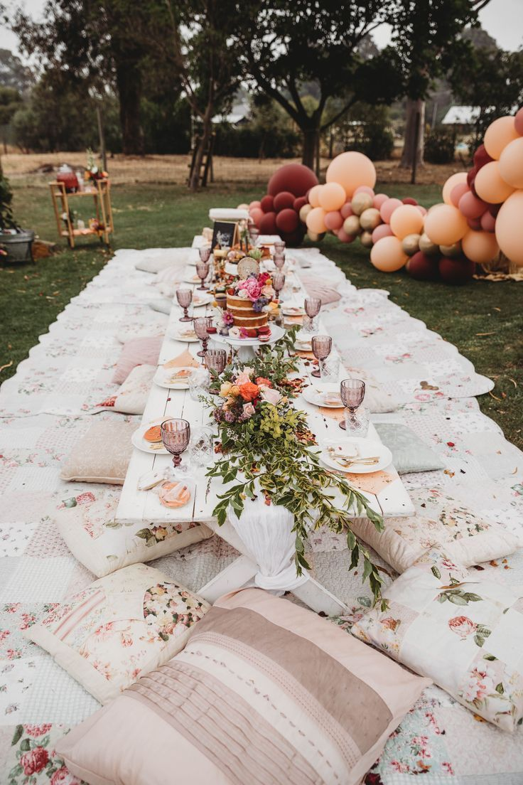 Miss Kyree Loves Baby Shower – Picknick im Freien – BabyDonkie