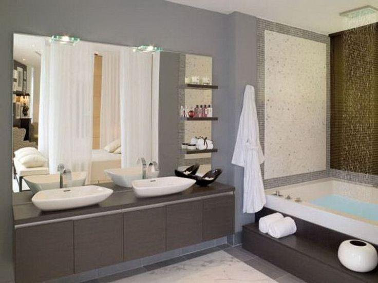 Bathroom paint ideas no windows pinterdor Pinterest Small - small bathroom paint ideas